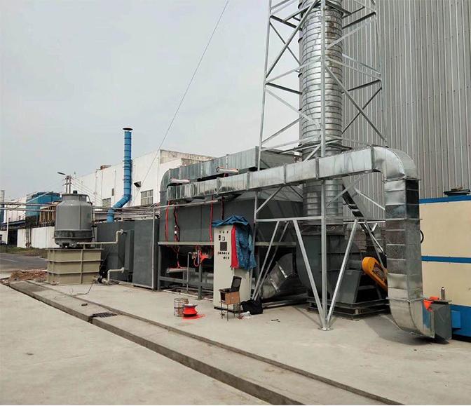 工业废气治理案例