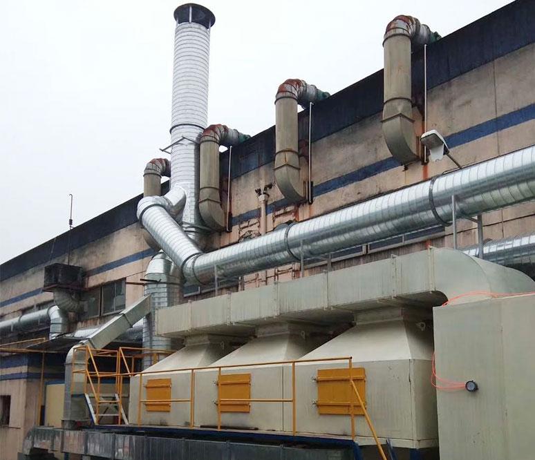 RCO催化燃烧设置生产